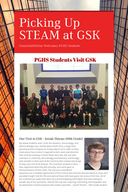 Picking Up STEAM at GSK