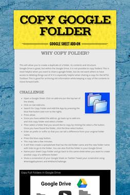 Copy Google Folder