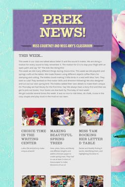 Prek News!