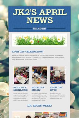 JK2's April News