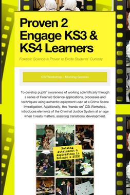Proven 2 Engage KS3 & KS4 Learners