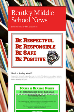 Bentley Middle School News