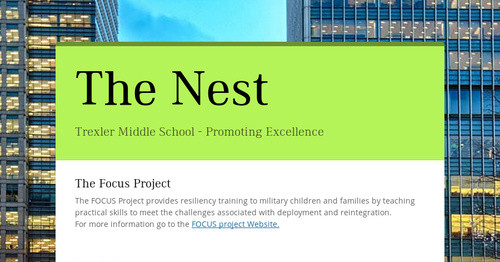The Nest Smore Newsletters