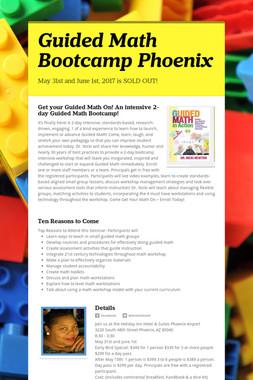 Guided Math Bootcamp Phoenix