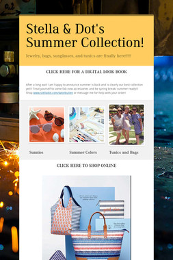 Stella & Dot's Summer Collection!