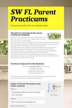 SW FL Parent Practicums