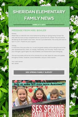 Sheridan Elementary Family News