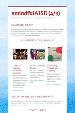 #mindfulAISD (4/3)