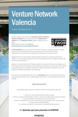 Venture Network Valencia