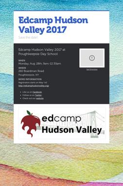 Edcamp Hudson Valley 2017