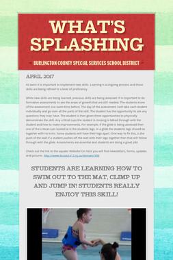 What's Splashing