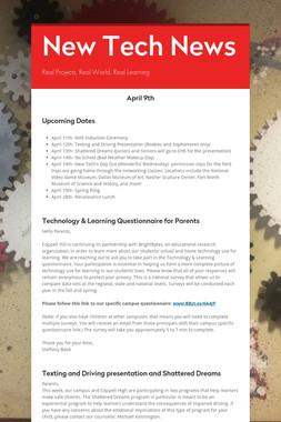 New Tech News