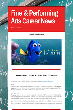 Fine & Performing Arts Career News