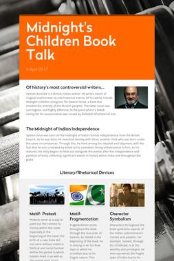 Midnight's Children Book Talk