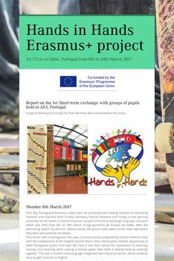 Hands in Hands Erasmus+ project