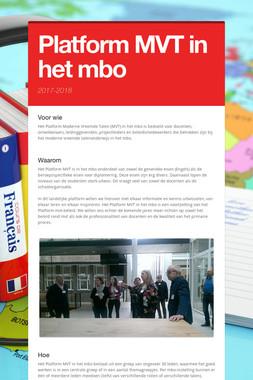 Platform MVT in het mbo