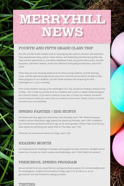 Merryhill News