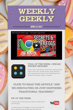 Weekly Geekly