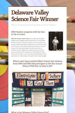 Delaware Valley Science Fair Winner