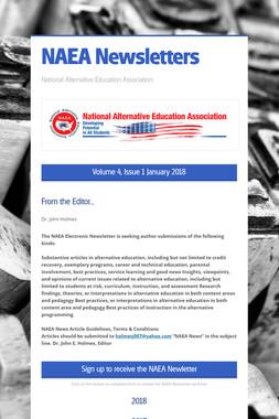 NAEA Newsletters