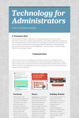 Technology for Administrators