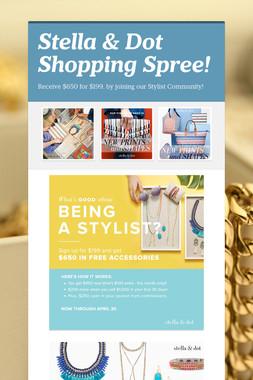 Stella & Dot Shopping Spree!