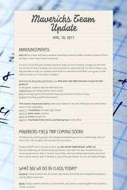 Mavericks Team Update