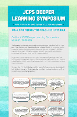 JCPS Deeper Learning Symposium