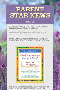 Parent STAR News