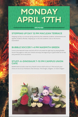 Monday April 17th