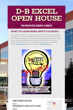 D-B EXCEL Open House