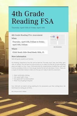 4th Grade Reading FSA