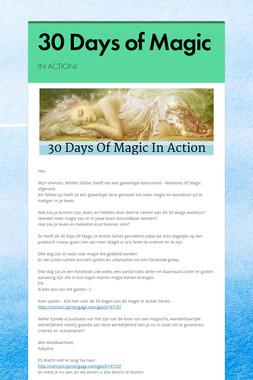 30 Days of Magic