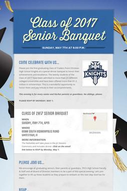 Class of 2017 Senior Banquet