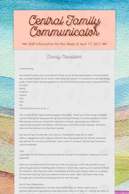 Central Family Communicator