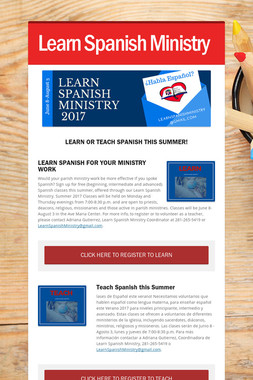 Learn Spanish Ministry