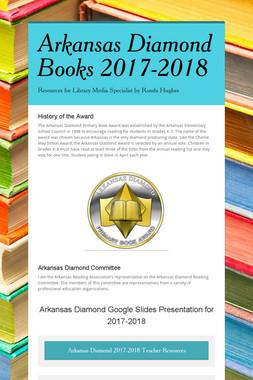 Arkansas Diamond Books 2017-2018