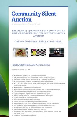 Community Silent Auction