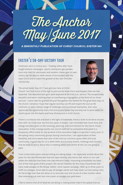 The Anchor May/June 2017