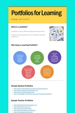 Portfolios for Learning