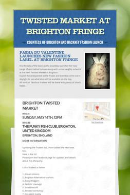 Twisted Market at Brighton Fringe