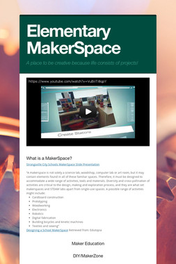 Elementary MakerSpace