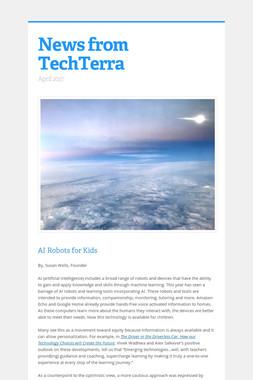 News from TechTerra