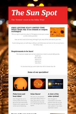 The Sun Spot
