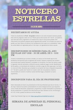 Noticero Estrellas