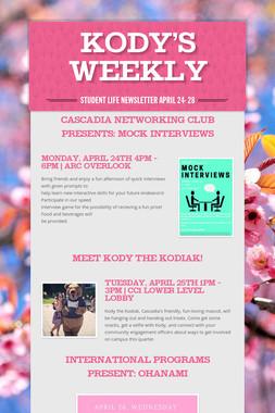 Kody's Weekly