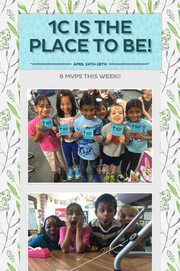 1C is the Place to Be!
