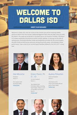 Welcome to Dallas ISD