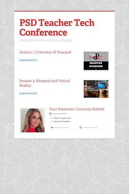 PSD Teacher Tech Conference