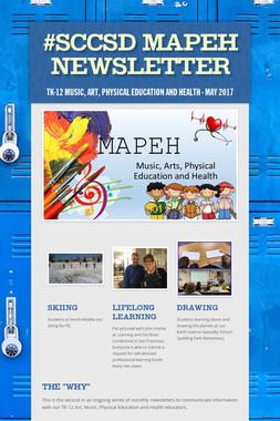 #SCCSD MAPEH Newsletter